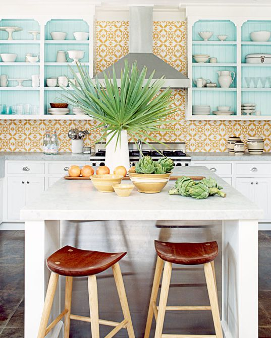 10 Yellow Kitchens That'll Make You So Happy