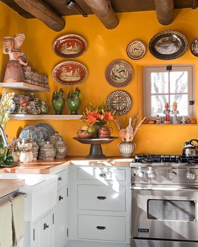innovative yellow kitchen wall paint ideas | 10 Yellow Kitchens That'll Make You So Happy - Home ...