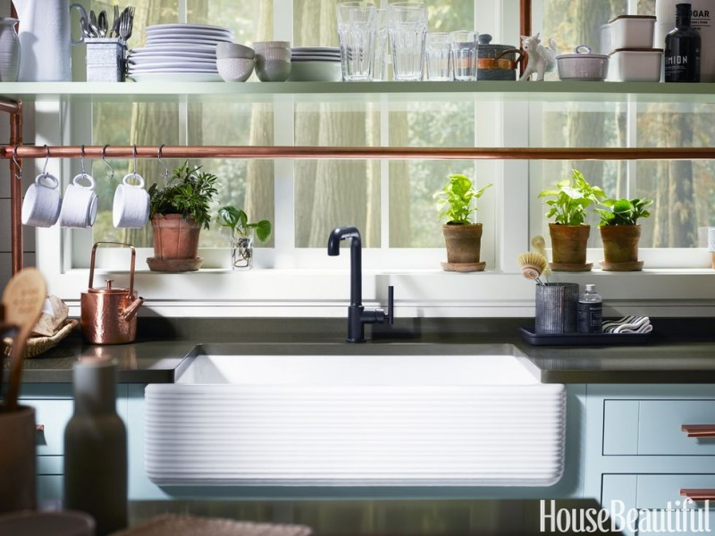 A Tiny Corner Became the Cutest Kitchen With 4 Smart Strategies