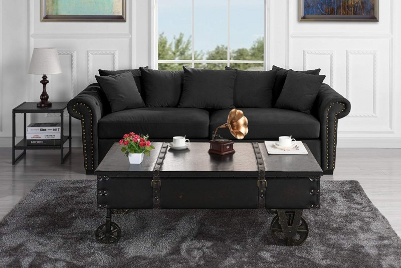 Divano Roma Furniture Classic Coaster Country Style Coffee Table