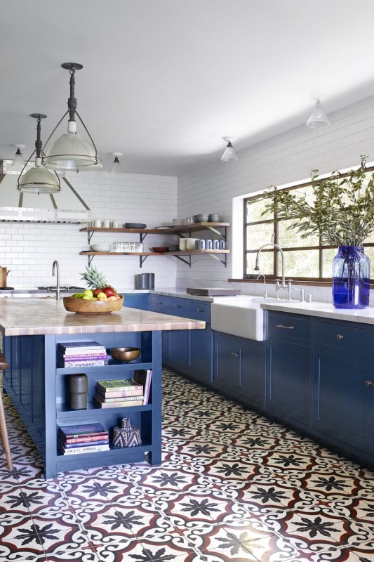 The 30 Most Comforting Blue Kitchens We've Ever Seen