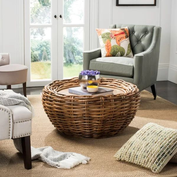 Joetta Rattan Coffee Table