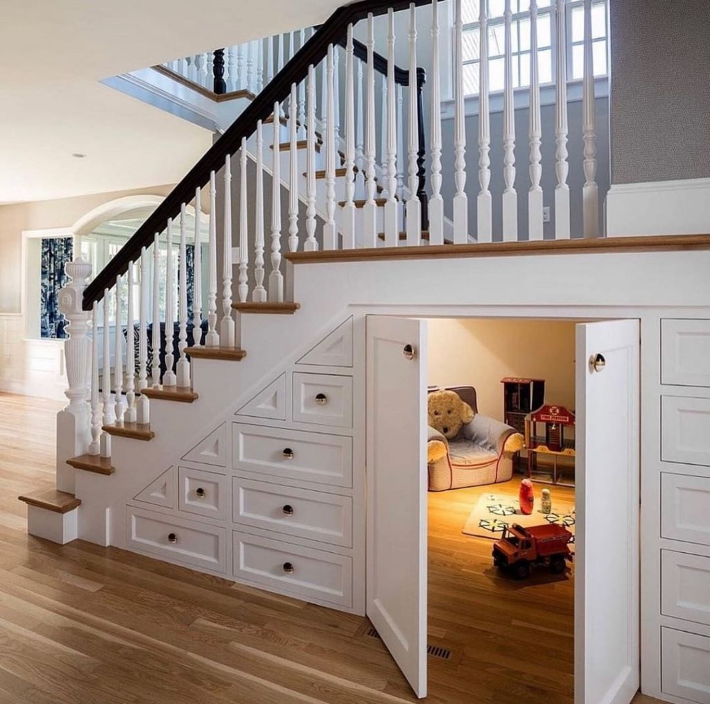 Under Stairs Playroom