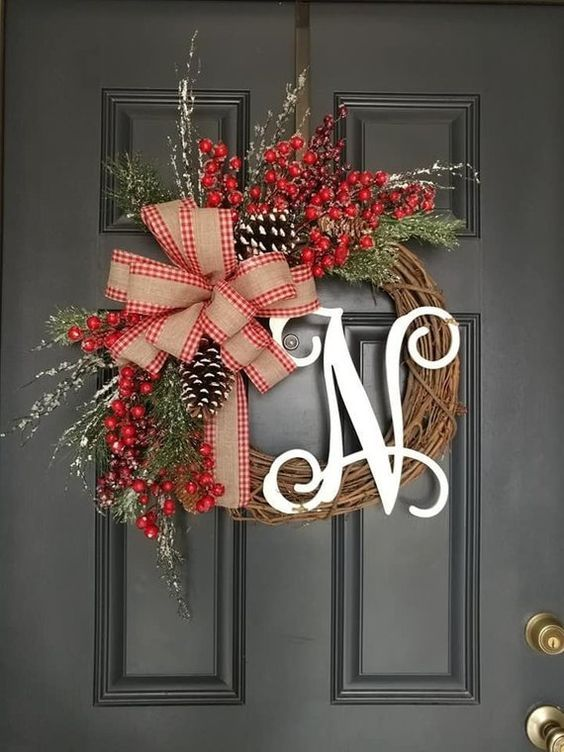 Front Door Spring Wreaths